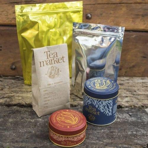 Tea Market - Formatos de presentación de té