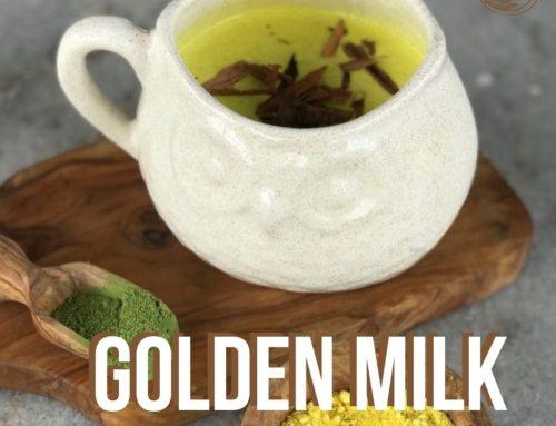 Receta – Golden Milk con té Matcha – Tea Market