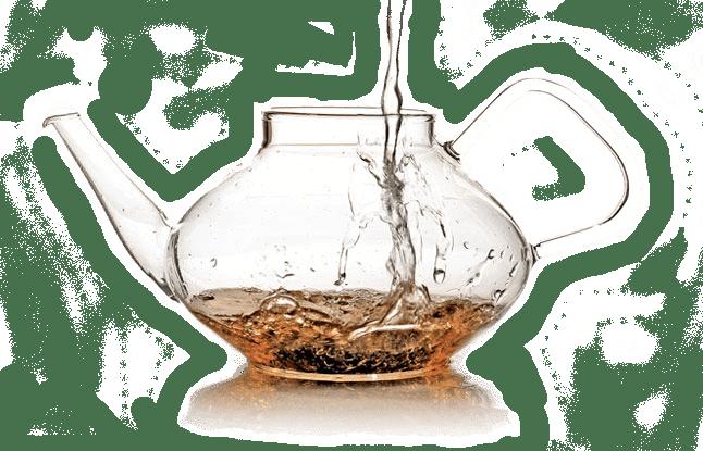 como preparar el té - agua