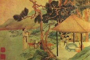 historia del té - leyenda