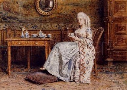 historia del té - Inglaterra