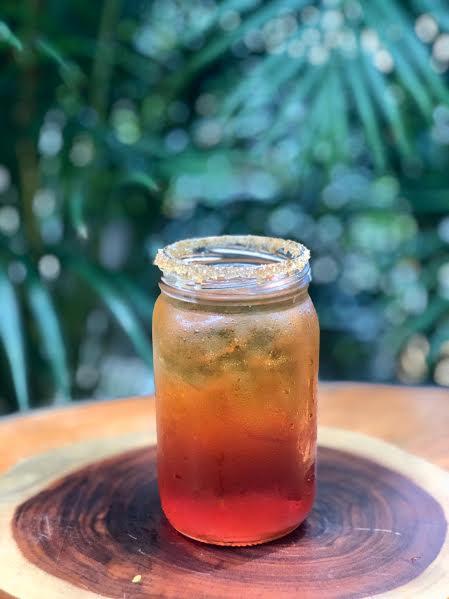 receta de soda con té frutal tea market colombia