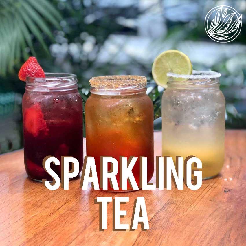 receta de soda con té - Tea Market