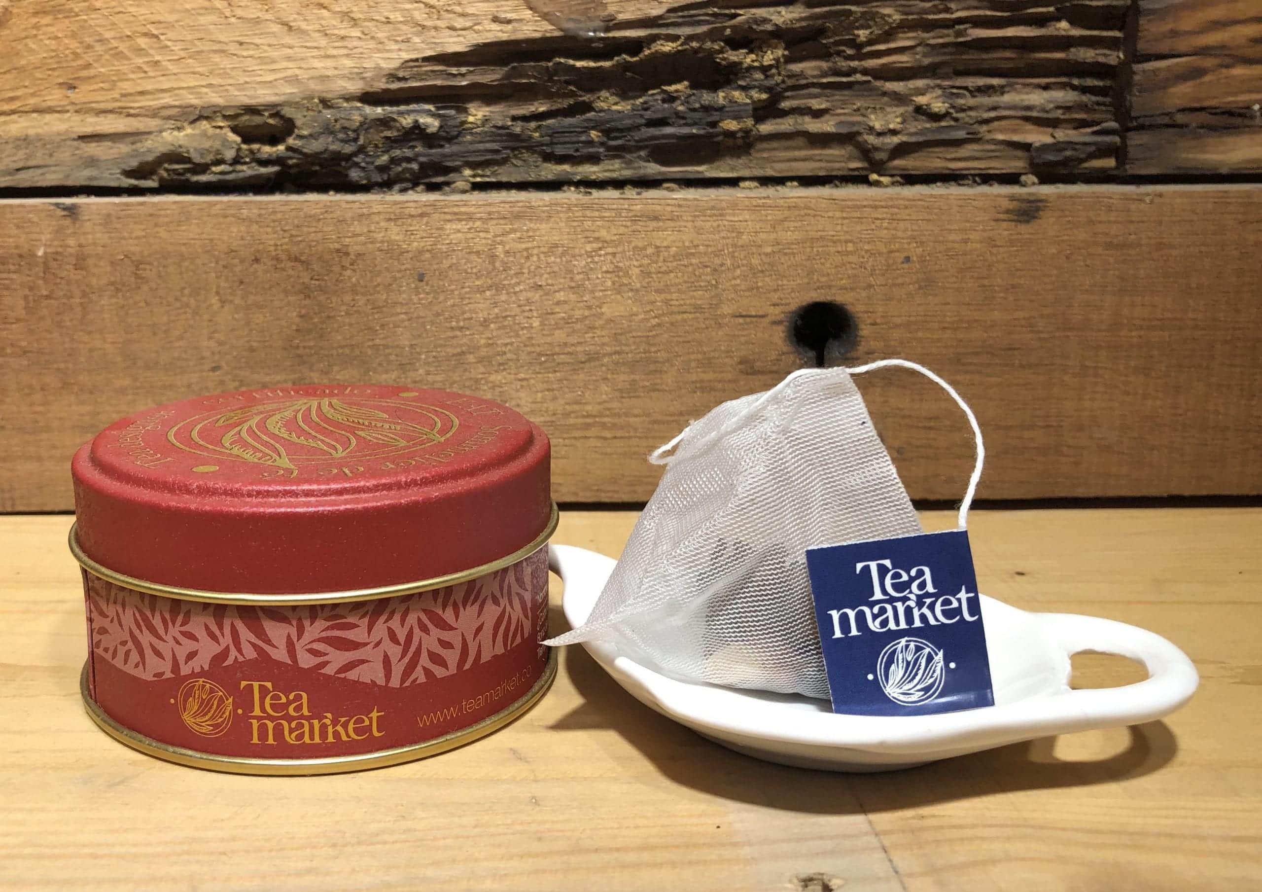 bolsas de té verde mojito jazmín tea market