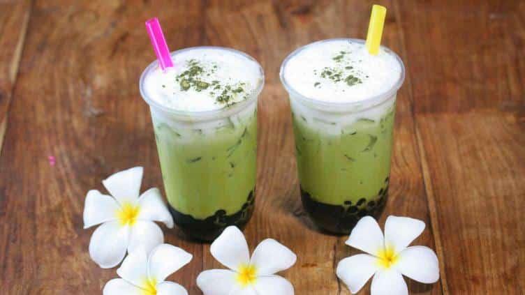 tea market té matcha latte