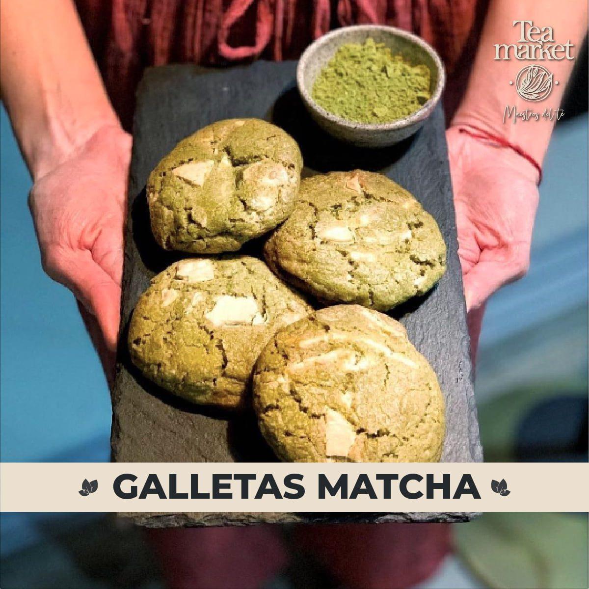 Receta - Galletas de matcha saludables - Tea Market