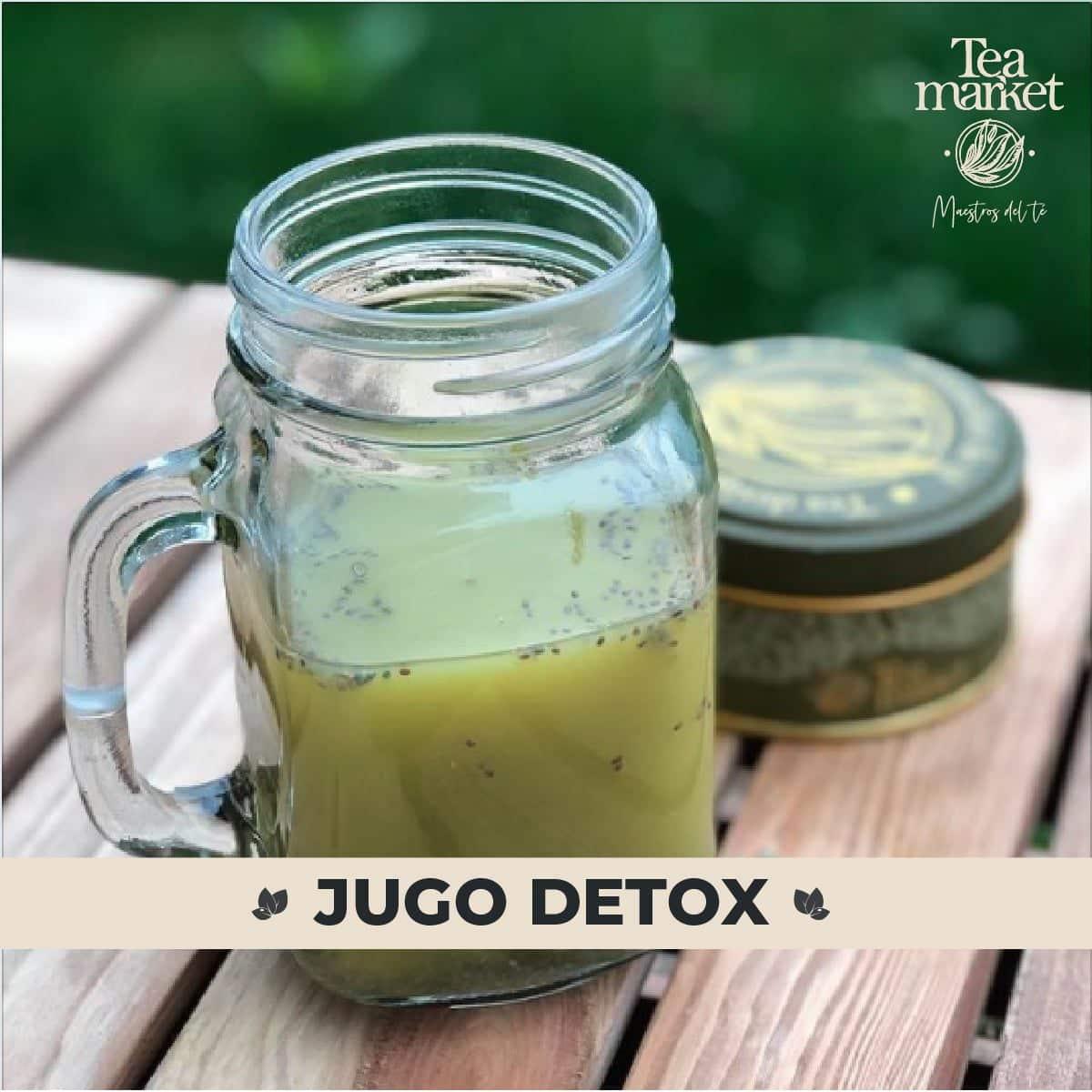 Receta - Jugo detox con naranja y té matcha - Tea Market