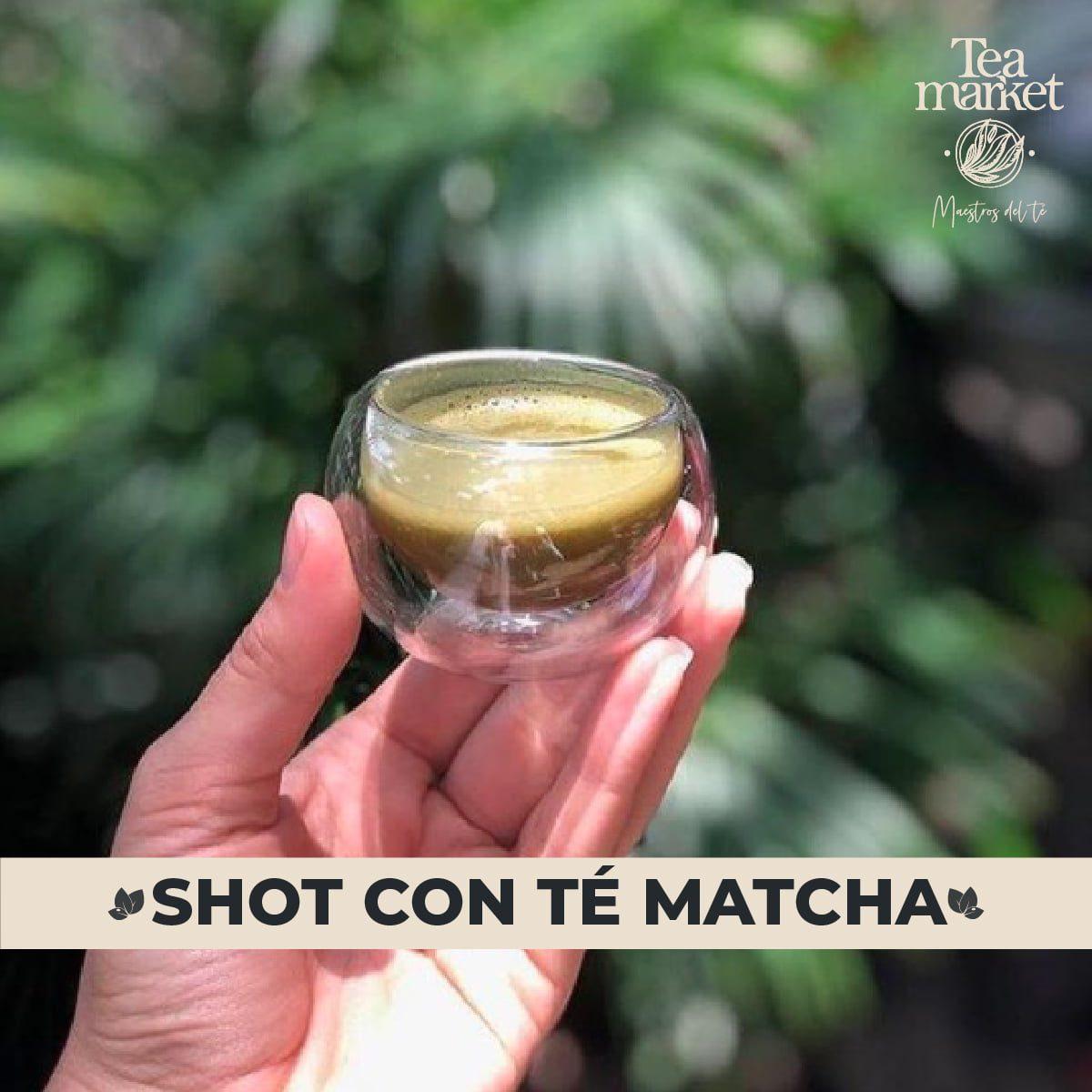 Receta - Shot de té matcha con curcuma - Tea Market