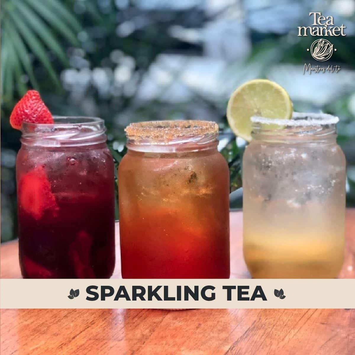 Receta – Sparkling Tea con Té de Frutas – Tea Market