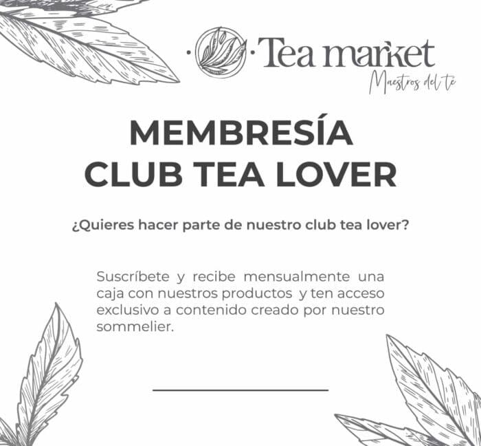 suscripción tea market 2021